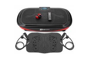 Виброплатформа 4D + массажный коврик + пульт + часы HS-095VS Crown Черный