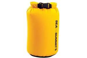 Жовтий Гермочохол на 4 літри Sea To Summit LightWeight Dry Sack 4L yellow, STS ADS4YW, 15х33 см.