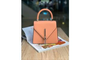 женская сумка конверт пудра