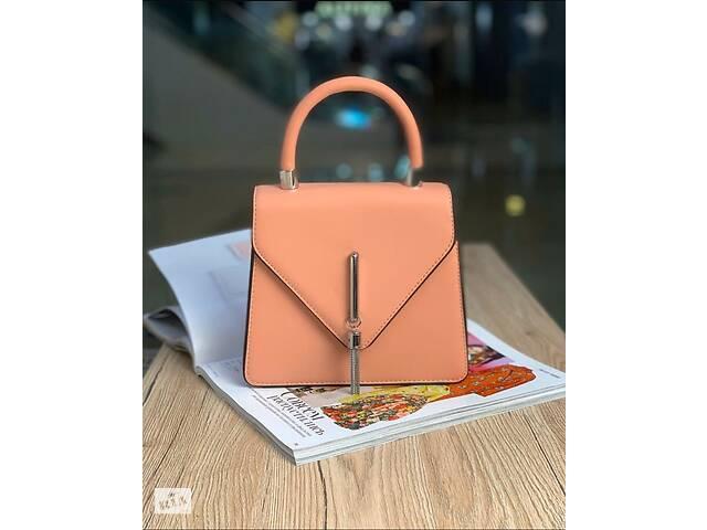 продам женская сумка конверт пудра бу в Мелитополе