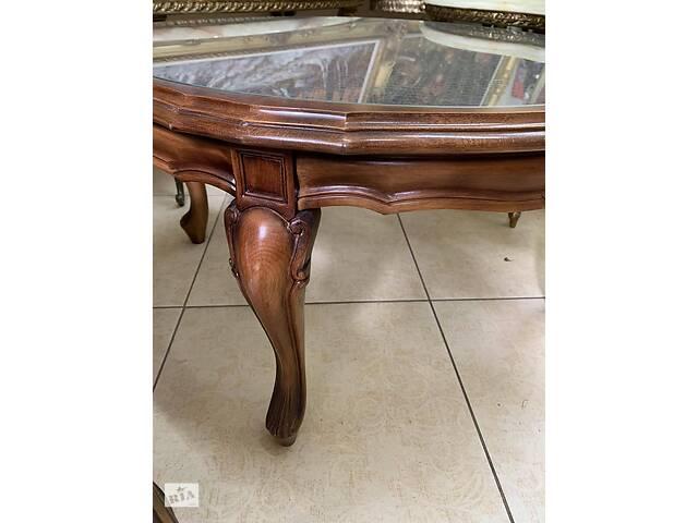 продам Журнальний столик з Європи дерево ротанг бу в Ивано-Франковске