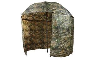 Зонт-палатка для рыбалки MHZ SF23817 диаметр 2.2 м Хаки (007089)