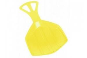 Зимние санки-лопата Plastkon Klaun Yellow SKL24-238220