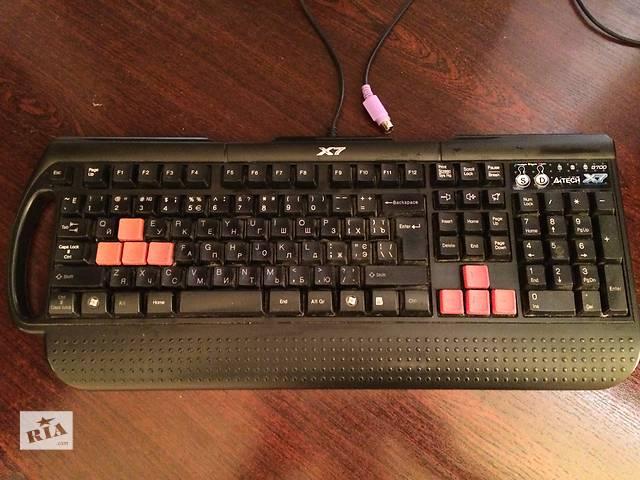 бу Клавиатура A4 Tech X7 G700 в Ромнах