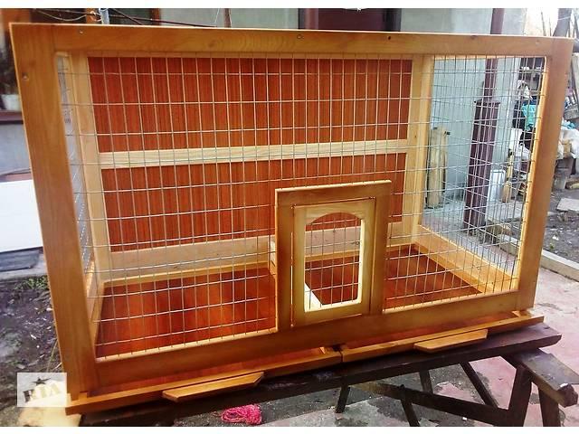 Клетка для ожереловых попугаев (разборная).- объявление о продаже  в Киеве