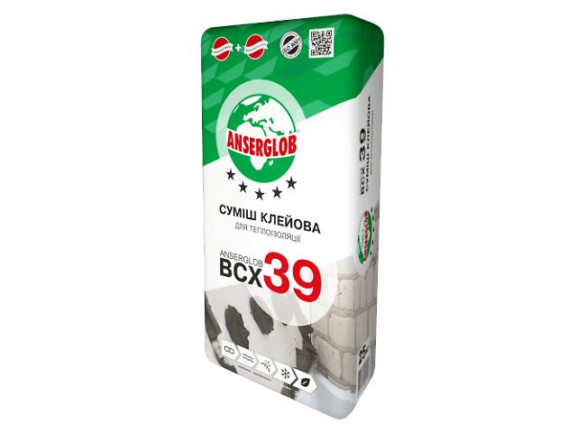 купить бу Клей для утеплителей ANSERGLOB ВСХ-39 в Броварах