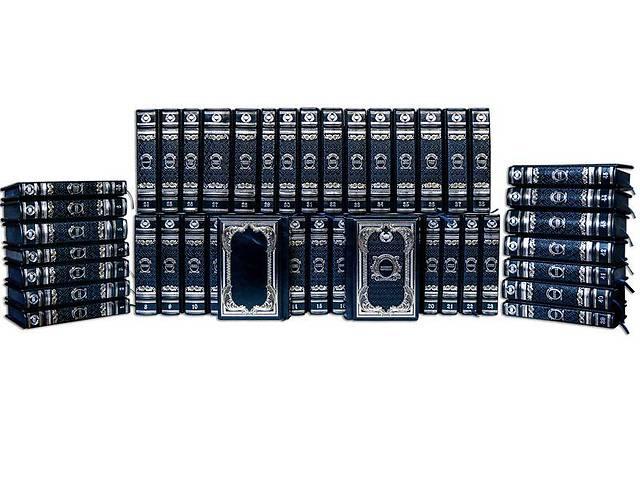 купить бу Книги подарочные BST 860520 150х225х55 мм Собрание «Гении власти» (Robbat Blu) (в 50-ти томах) в Одессе