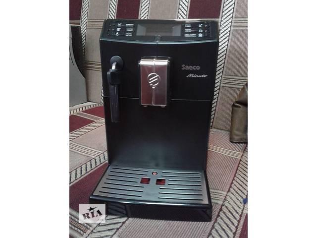 купить бу Кофеварка для дома Saeco Minuto HD8761/09 в Кременчуге