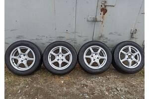 Колеса в сборе на ВАЗ R14 175/65. Диски с резиной для ВАЗ, литые диски 14, комплект колес в сборе, летние колеса на ВАЗ.