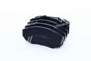 Колодка тормозная дисковая передняя FIAT DUCATO / JUMPER / BOXER 94- (RIDER)