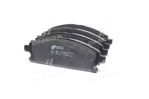 Колодка тормозная дисковая передняя NISSAN X-TRAIL (T30) (07/01-05/07) (пр-во REMSA)