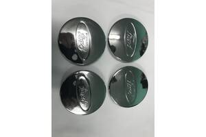 Колпачки под оригинальные диски 50мм V2 (4 шт) Ford Kuga/Escape 2013-2019 гг. / Колпачки на диски Форд Куга