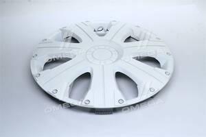 Колпак колесный R15 ULTRA белый 1шт.