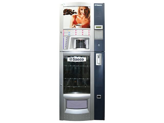 купить бу Комбиснековый автомат Saeco Combi Espresso,  Blue, базовое ТО в Киеве