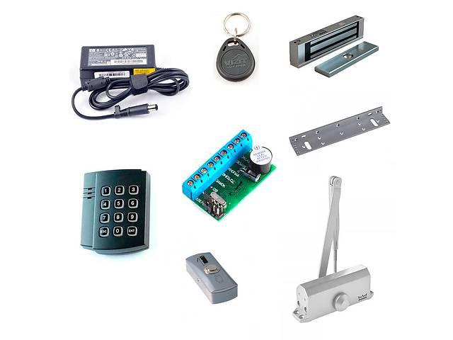 купить бу Комплект контроля доступа для офиса с магнитным, ригельным, электромеханическим замком  в Украине