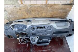 Комплект на англию Renault Master III панель коврики шумка рульова рейка кулиса ...