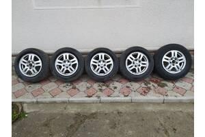 Комплект титанових дисків з резиною R15 5x114,3 для Honda CR-V 2002-2006