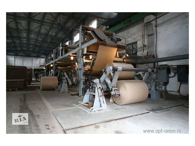 купить бу Консультация,наладка по изготовлению гофро картона на линии АГ-1М Верхнеднепровского маш завода.  в Украине