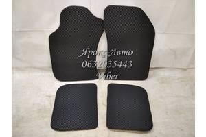 Коврики в салон для Nissan Maxima A32 '95-00, EVA-полимерные, черные (Kinetic)