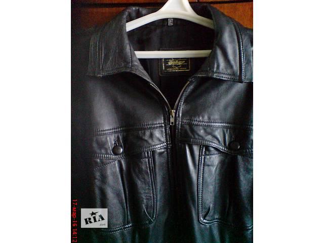бу Кожанная куртка из натуральной кожи в Харькове