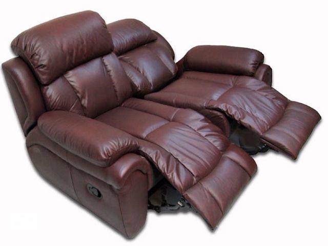продам Шкіряний диван Boston 2р в наявності бу в Києві