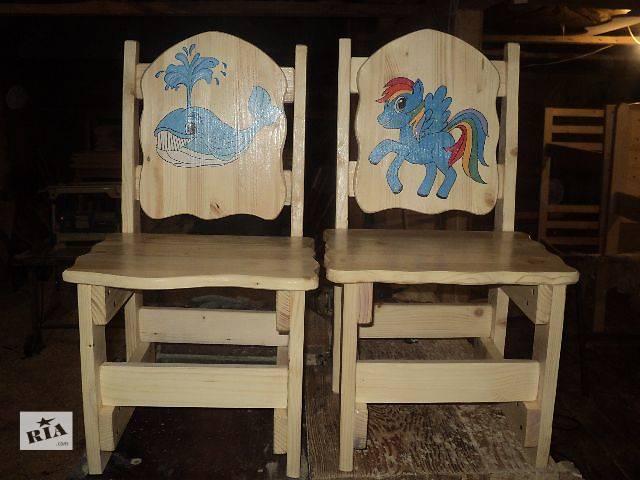 бу кресла,стульчики ,любой высоты,и с любым рисунком для ваших деток в Киеве