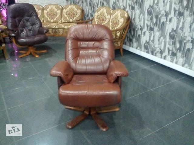 купить бу кресло кожаное в Измаиле