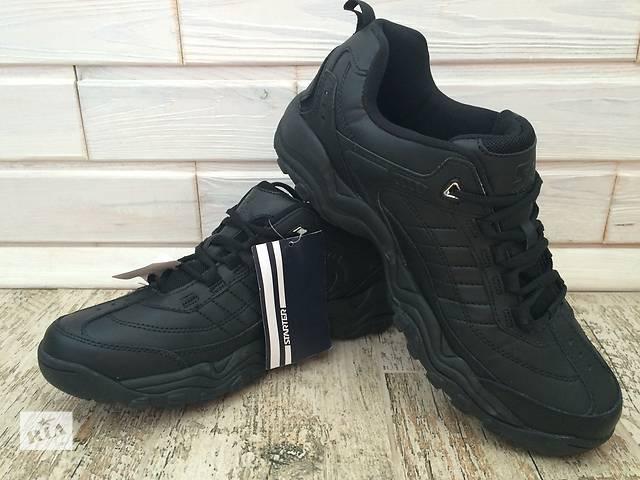 купить бу Кросівки шкіряні Starter кроссовки кожаные черные чорні 44 - 45 размер в Черкассах