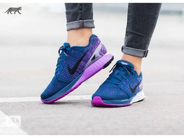 купить бу Кроссовки мужские Nike Lunarglide 7 violet в Киеве