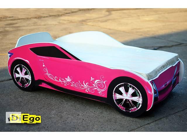 купить бу Кровать-машина Nissan розового цвета из МДФ в Киеве