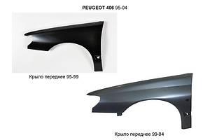 Новые Крылья передние Peugeot 406