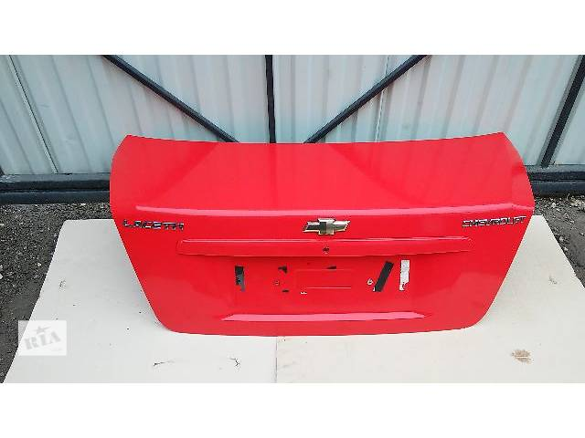Крышка багажника для легкового авто Chevrolet Lacetti- объявление о продаже  в Тернополе