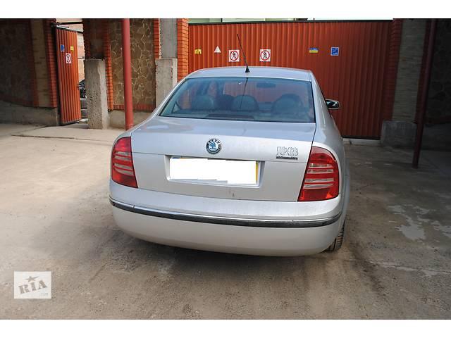 продам Кришка багажника для седана Skoda SuperB 2003 бу в Львове