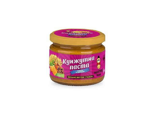 купить бу Кунжутна паста Master Bob з медом та корицею 200 г (4820202930167) в Киеве