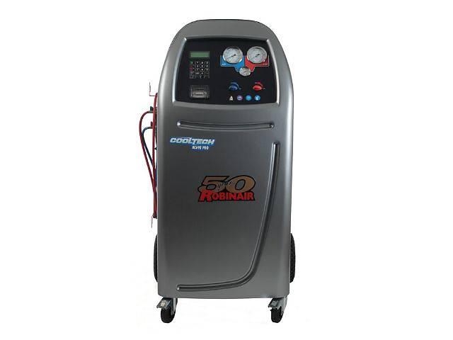 продам Купить стенд обслуживания автомобильных кондиционеров Robinair AC690PRO вакуумный насос 180 л/мин балон на 20 кг бу в Киеве