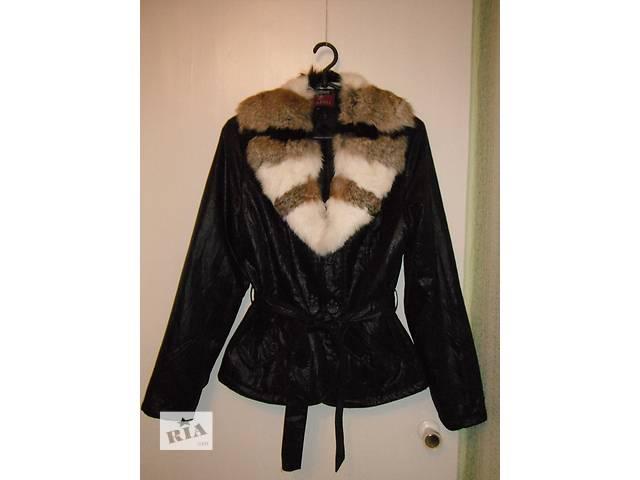 куртка весна-осень с меховым воротником- объявление о продаже  в Тальном