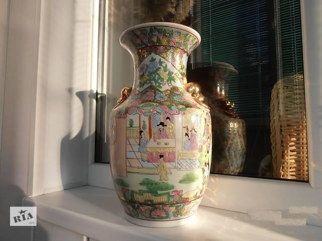 купить бу Китайская ваза расписанная в ручную. в Николаеве