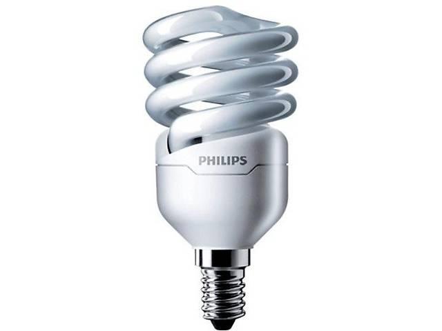 бу Лампа энергосберегающая Philips E14 12W 220-240V WW 1CT/12 TornadoT2 8y (929689381502) в Києві