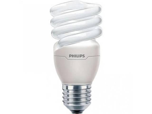 бу Лампа энергосберегающая Philips E27 15W 220-240V WW 1CT/12 TornadoT2 8y (929689848112) в Києві