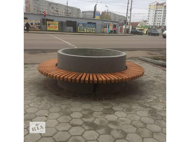 бу Лавка бетонна в Ивано-Франковске