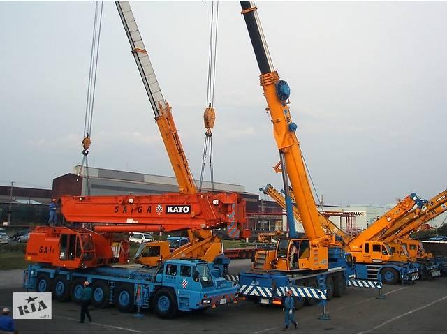 бу Аренда автокрана 30-40 тонн, 50-60 тонн, 90-100 тонн, 120-400 тонн  в Украине
