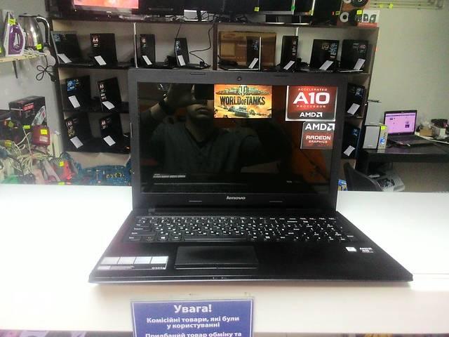 """бу Lenovo 15.6"""" 4 ядра AMD A10/ 6Гб / 750 / 5 Гб видео в Виннице"""