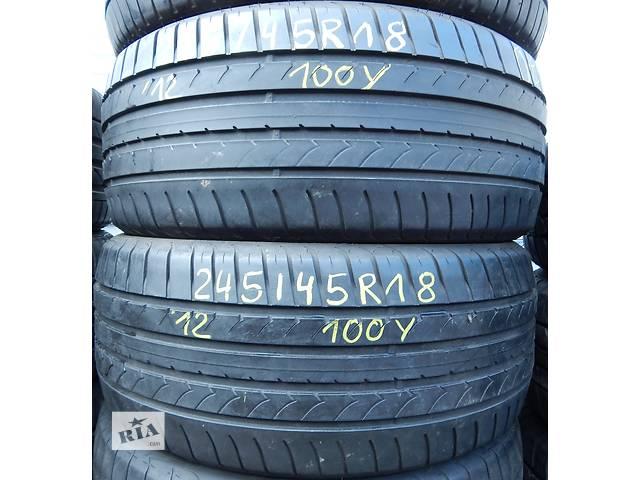 продам Летняя резина GOOD YEAR EfficientGrip GERMANY AO 47.12 245/45 R18 бу в Виннице
