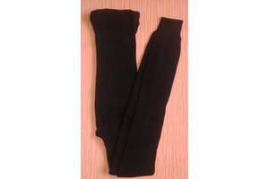 Гамаші жіночі теплі трикотажні р. 52-56 чорні. Від 3шт по 56грн