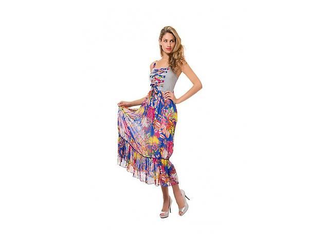 10ce051ef Сарафаны женские летние яркие в цветах от производителя без ...
