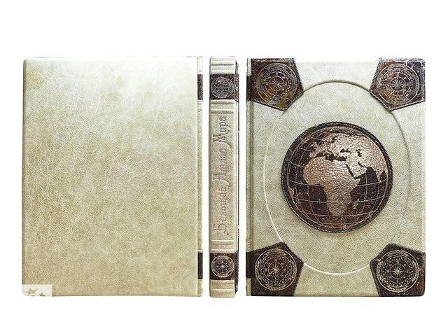 продам Книга подарочная элитная серия BST 860293  275х370х40 мм Большой атлас мира (Мarma Parle) в кожанном переплете бу в Сумах