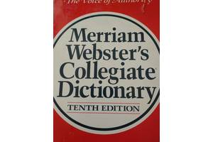 Merriam Webster & amp; # 039; s Collegiate Dictionary