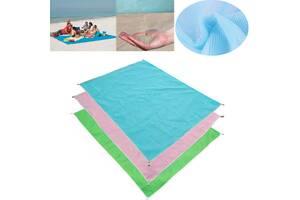Пляжный коврик Supretto Антипесок 200х200 см (5533)