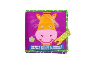"""Текстильная развивающая книга для малышей Bambini """"Пони"""" 403679"""