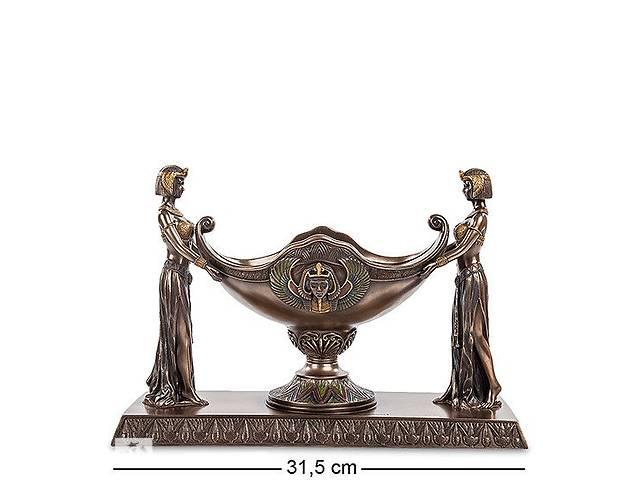 купить бу Ваза Veronese Єгиптянки 31,5 x 11 x 21,5 см 1903791 в Днепре (Днепропетровск)